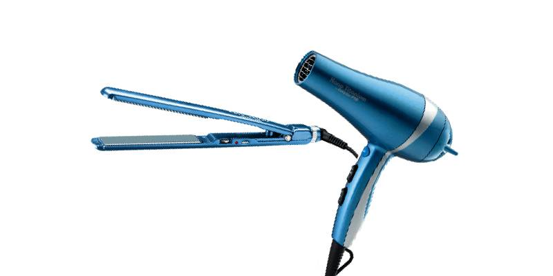 blow-dryer-flat-iron-set