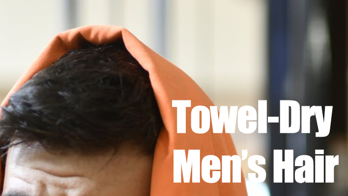 towel-dry-male-hair