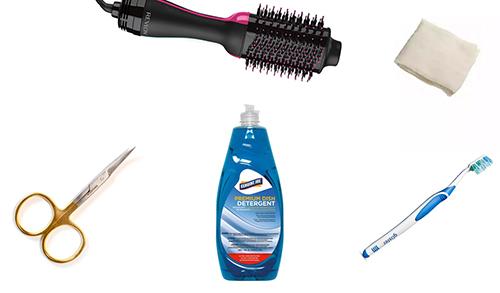 clean-revlon-hair-dryer-preparation