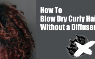 how-to-blow-dry-curly-hair-without-a-diffuser