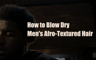 how-to-blow-dry-men-afro-natural-black-hair