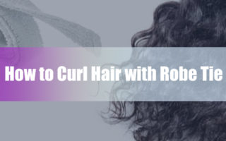 how-to-curl-hair-with-robe-tie-belt